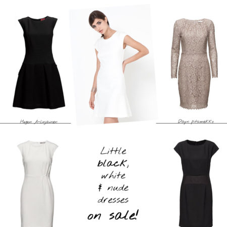 Classic dresses on sale from Boss, Hugo, By Malene Birger...