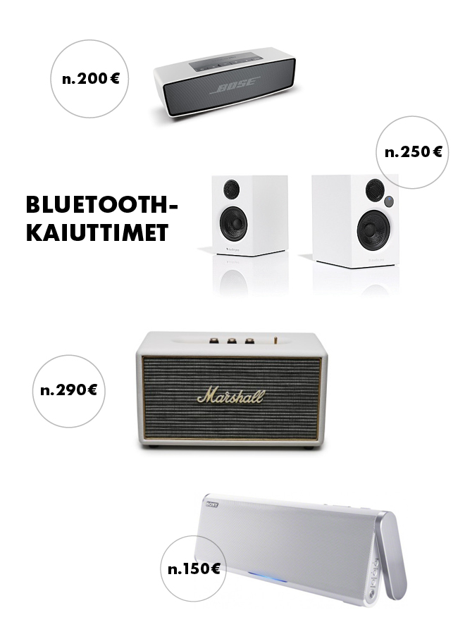 bluetooth-kaiuttimet